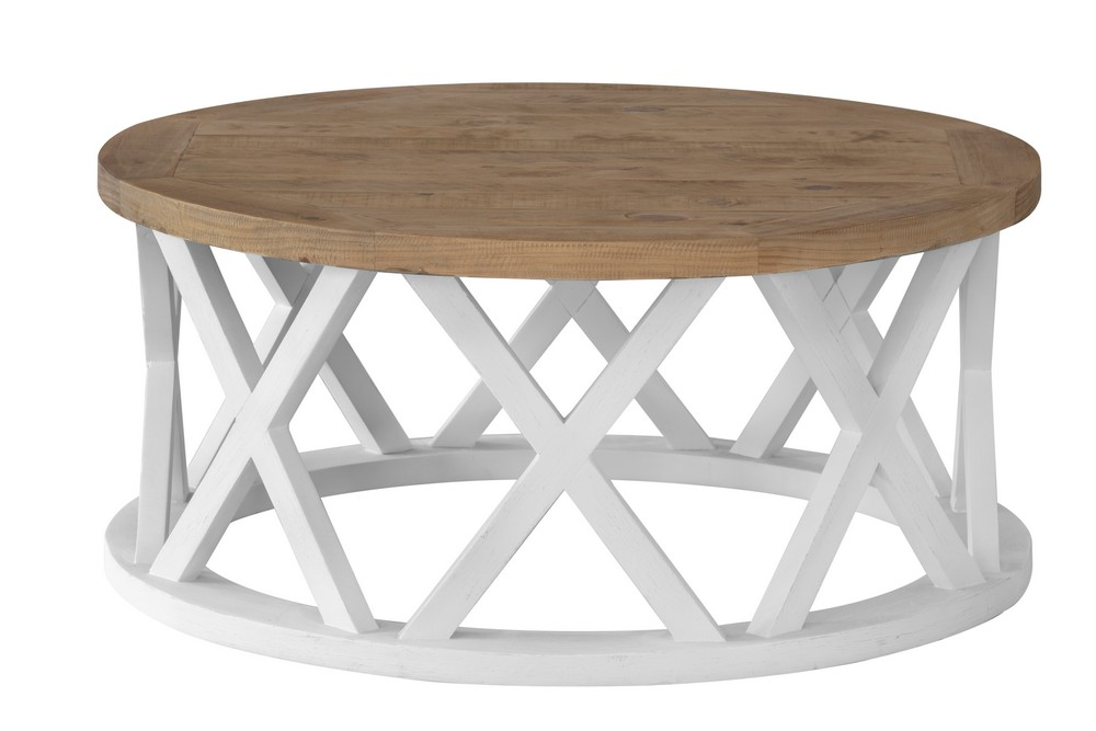 Byron Round Coffee Table Zip 1825 Interiors