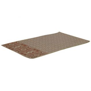 Printed Table Runner Copper