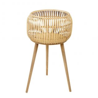 Oxley Bamboo Barrel Planter Large