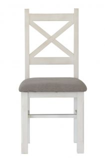 Byron Dining Chair with Cushion Seat Mineral