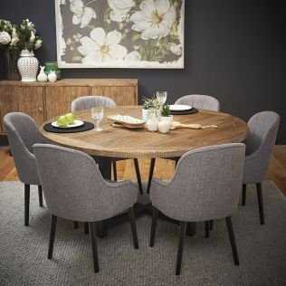 New Oxford 1600 Dining Package with Harlow Chairs