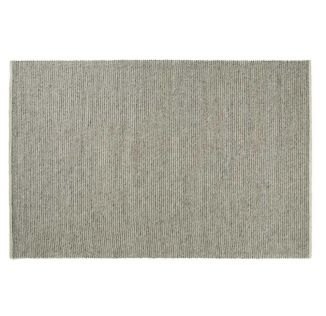 Andes Handwoven Textured Rib Rug Feather