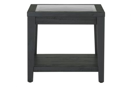 Shabby Chic Side Table Black