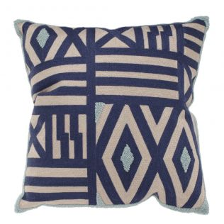 Venice Embroidered Feather Cushion