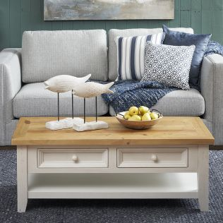 Byron Coffee Table with 2 Drawers