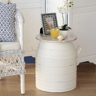 Milking Can Side Table