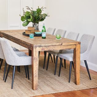 Oslo 2500 Dining Package with Nomad Salt & Pepper Chairs