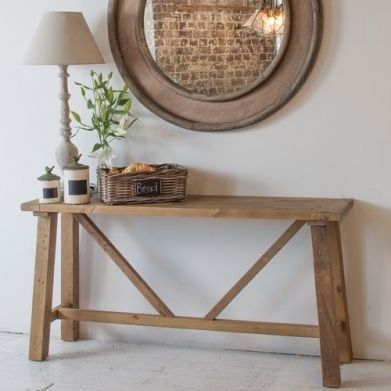 vintage console table. Vintage Console Table | Recycled Collection