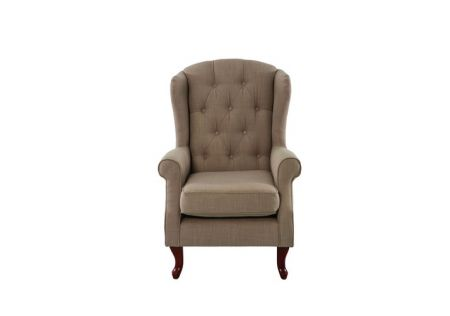 Sheffield Wingback Chair Cream | Stylish Sheffield Wingback Chair Cream