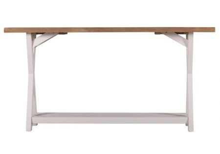 Byron Cross Leg Console Table | Byron Console Table | Byron Console Table Cross Leg | Byron Cross Leg Console Table Side View