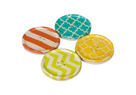 Resin Coaster Set of 4 - Buttons