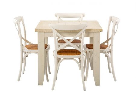 Florence 900 Dining Package with French Cross Chairs