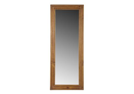 Odds & Ends Rectangular Mirror Honey | Elegant Odds & Ends Rectangular Mirror Honey