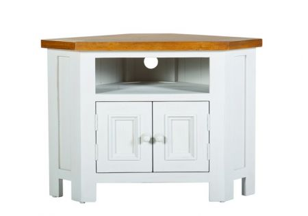 Tuscan Small Corner TV Unit
