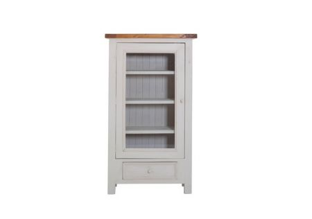 Tuscan Display Cabinet | Tuscan Display Cabinet with 4 Shelves | Tuscan Display Cabinet for Home Office