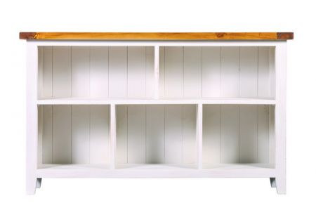 Tuscan Low Bookcase