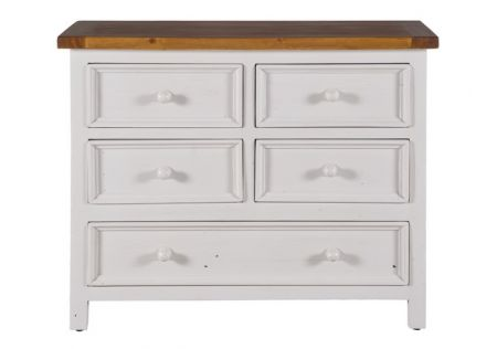 Tuscan 5 Drawer Lowboy