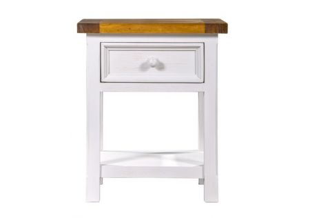 Tuscan Bedside Table with 1 Drawer