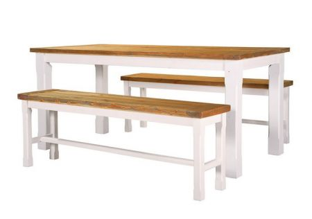 Tuscan 1800 Bar Table Package with Benches