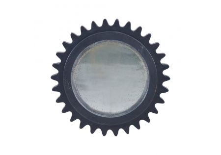 Pinto Mirror Distressed Black Harvest - ONLINE ONLY