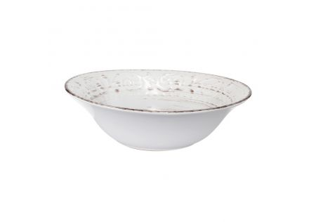 Rustic Fare Serving Bowl Cream