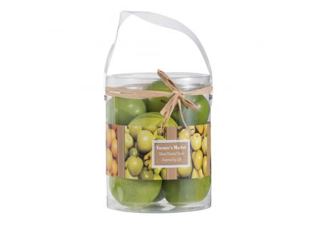 Mixed Green Apple Bowl Filler (Pack of 9)