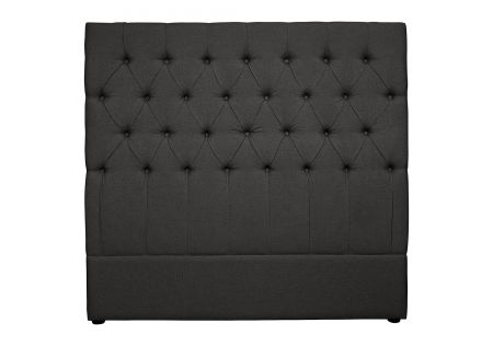 Notting Hill Double Headboard Charcoal