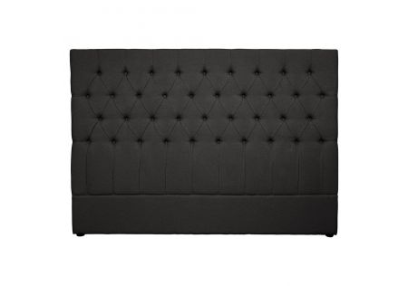 Notting Hill King Headboard Charcoal