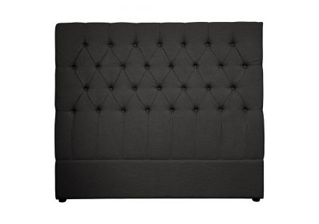 Notting Hill Queen Headboard Charcoal