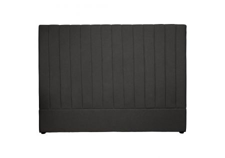 Milano King Headboard Charcoal