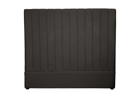 Milano Queen Headboard Charcoal
