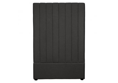 Milano Single Headboard Charcoal