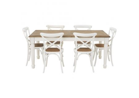 Bristol 1800 Dining Package with French Cross Chairs