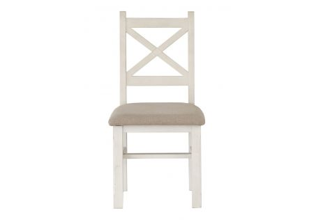 Byron Dining Chair with Cushion Seat Latte