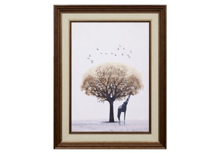 On Safari Framed Print A
