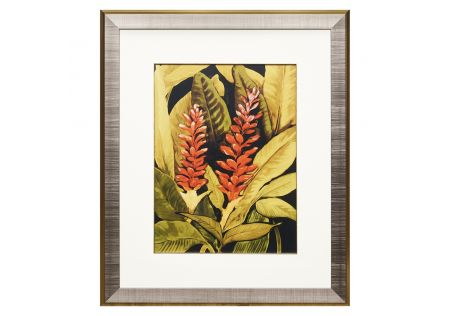 In the Tropics Framed Print A