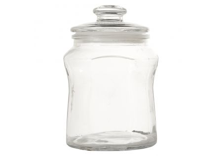 George Glass Lolly Jar Medium