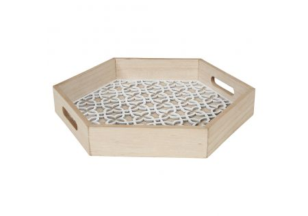 Laguna Hexagon Serving Tray Small