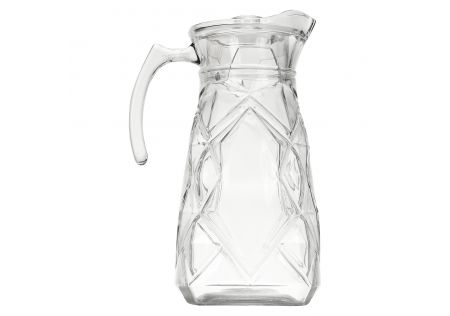 Werri Glass Jug with Lid