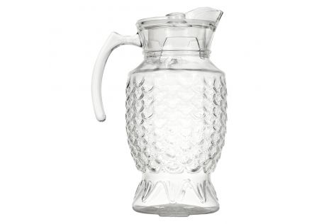 Hyams Glass Jug with Lid