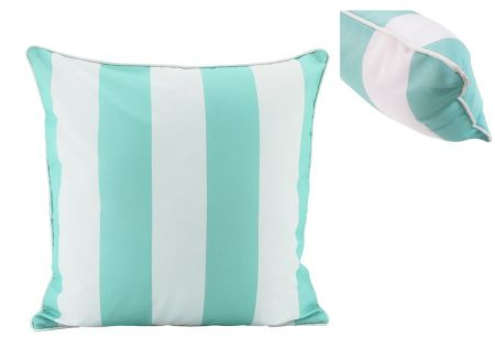 Mint Stripe Cushion 50cm