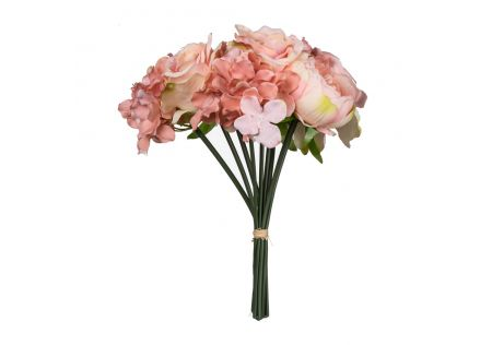 Bouquet of Peonies, Hydrangeas and Roses