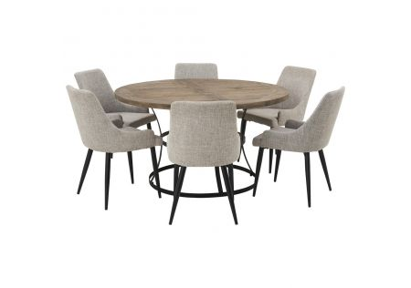 Newcastle 1400 Dining Package with Nomad Salt & Pepper Chairs