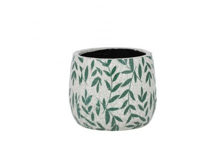 Ferna Ceramic Pot Green Small