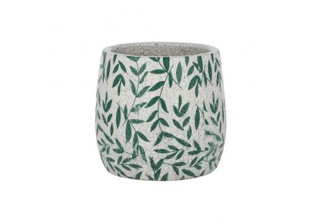 Ferna Ceramic Pot Green Large