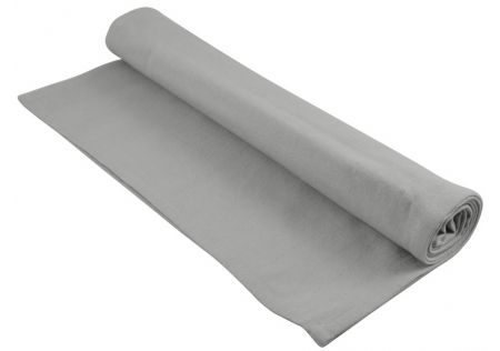 Cotton Table Runner Warm Grey