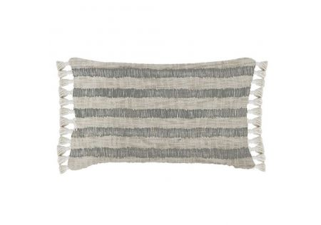 Hunter Handwoven Cotton Slub Rectangular Cushion