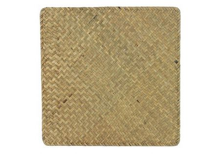 Placemat Square Weave Natural