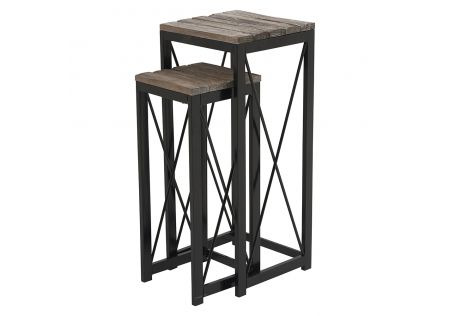 Street Side Table Set of 2
