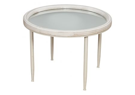 Robson Mirrored Accent Table